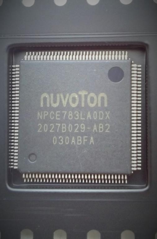 Мультиконтроллер Nuvoton NPCE783LA0DX новый.