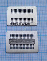 Трафарет BGA DDR3, шар 0,45 мм