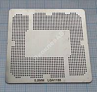 Трафарет BGA Socket LGA1155, шар 0,5 мм