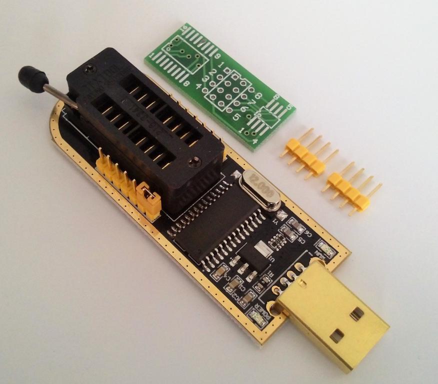 Премиум программатор CH341A Gold SPI FLASH EEPROM