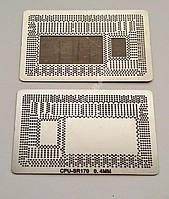 Трафарет BGA CPU-SR170, шар 0,4 мм. 1 шт