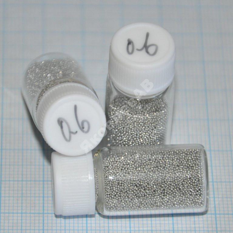 Шары для BGA реболлинга, диаметр 0,6 мм. 12500 шт