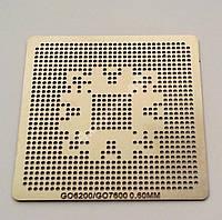 Трафарет BGA GO6200, 7300, G84-600-A2, G86-770-A2