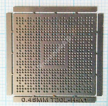 Трафарет BGA T20L-H-A1, шар 0,45 мм