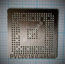 Трафарет BGA PVC0019, шар 0,45 мм