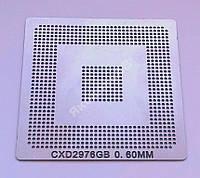 Трафарет BGA CXD2976GB, шар 0,6 мм