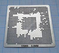 Трафарет BGA VX900, под шар 0,5 мм