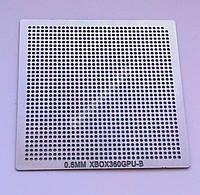 Трафарет BGA XBOX360GPU-B, шар 0,6 мм