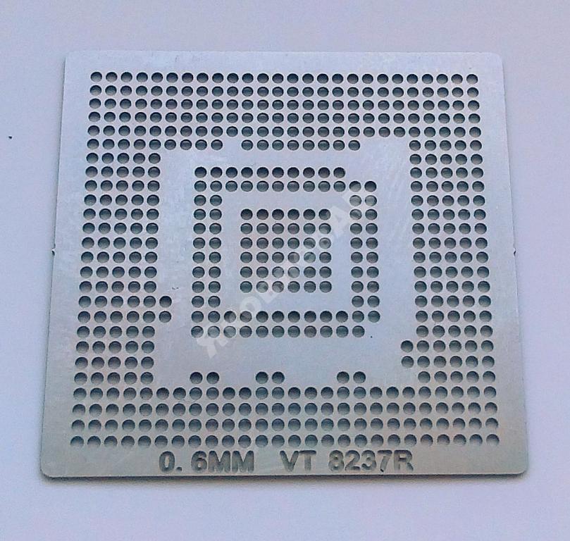 Трафарет BGA VT 8237R, шар 0,6 мм