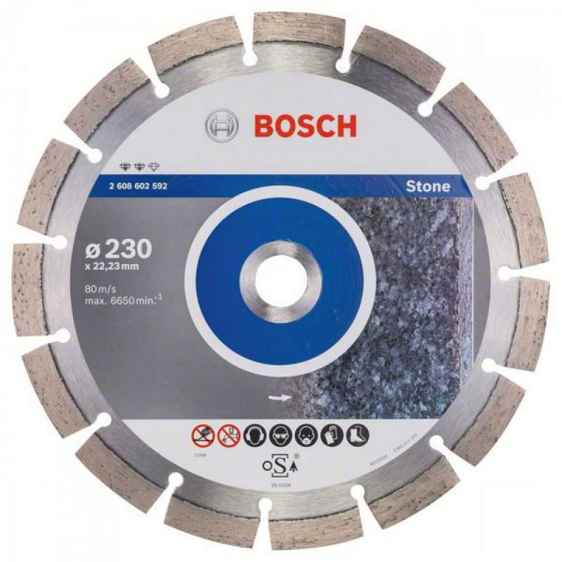 Алмазный отрезной круг Bosch Expert for Stone230x22,23
