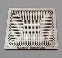 Трафарет BGA BD82HM55, шар 0,35 мм