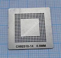 Трафарет BGA CX82310-14, шар 0,5 мм