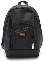 Компактный рюкзак черного цвета art. 103-1, фото 1