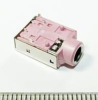 A028 Аудио разъем, гнездо под 3х контактный штекер 3,5 мм для ноутбуков и материнских плат 6PIN HP Dell Lenovо
