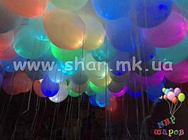 Светящиеся гелиевые шары на свадьбу