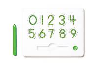 Kid O - Магнитная доска для изучения цифр от 0 до 9 Зелёная
