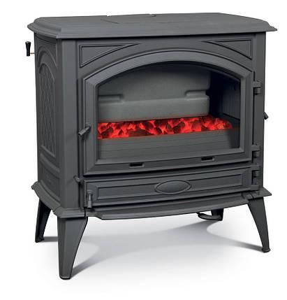 Печь камин чугунная DOVRE 760 GK на углях, фото 2