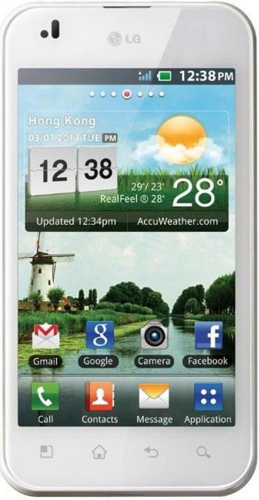 Сенсор LG Optimus 3D P920 white, тач скрин для телефона смартфона
