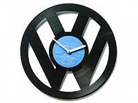 Виниловые часы Фольксваген