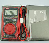 Карманный профессиональный мультиметр  UA18 (Uni-T(UYIGAO) UTM 110A (UT10A) +запасной литиевый элемент