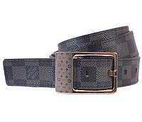 Кожаный ремень Louis Vuitton двусторонний (реплика)