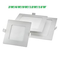 Светильник LED врезной - (3/6/9/12/18 Вт), 4200/6400K, Lezard, фото 1