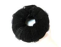 Валик для волос черный RND-19