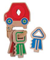 """Деревянная игрушка """"Детские ключики"""", Melissa&Doug, фото 1"""