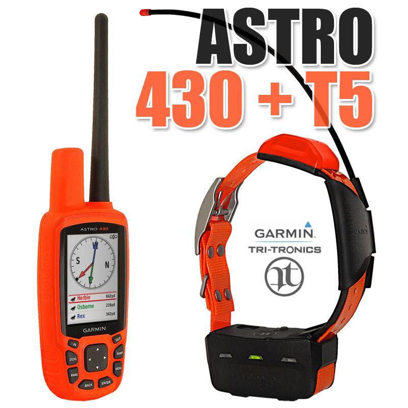 Garmin Astro 430 + ошейник Garmin T5/T5 mini. Навигатор для охоты. Американец