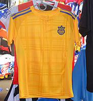 Подростковая футбольная форма сборной Украины (желтая)