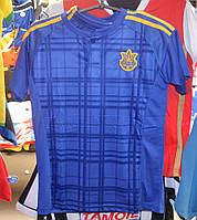 Подростковая футбольная форма сборной Украины (синяя)