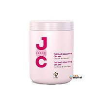 Кондиционеры для волос Barex Крем Barex Italiana Joc Cure термо-активний с экстрактом подсолнечника и УФ-фильтром 1000 мл