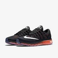 Кроссовки Nike Air Max 2016 Solar Red/Black