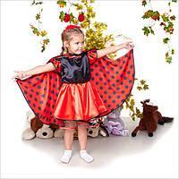 Детский карнавальный костюм Божья Коровка для девочки, костюм божьей коровки, новогодний костюм дропшиппинг, фото 1