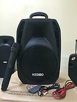 Аккумуляторная колонка с микрофоном G-08 (USB,Blutooth,радио)