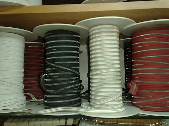 Резинки под пряжку 6, 8,10, 12, 14 мм. (Италия) цвет в ассорт., фото 2