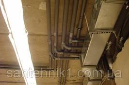 Ремонт, замена водопроводных труб в Киеве, замена канализационных труб в Киеве и пригороде