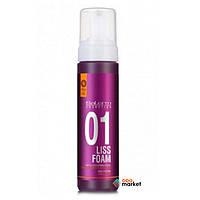 Стайлинг Salerm Выпрямляющая пена Salerm Liss Foam для укладки волос 200 мл