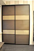Шкаф-купе 2-дверный и компьютерный стол в спальню