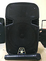 Портативная акустика с радиомикрофоном S-08 (USB,Blutooth,радио), фото 1