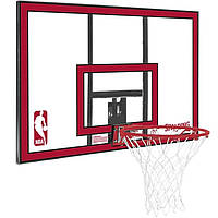 """Баскетбольный щит Spalding NBA Combo 44"""" Polycarbonate (79351CN)"""