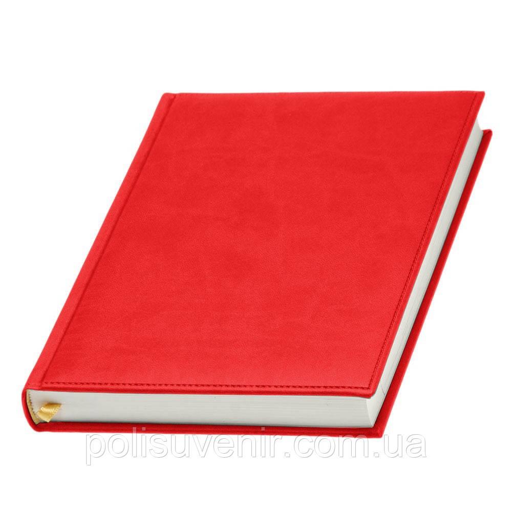 Щоденник недатований А5 'Принт' білий блок