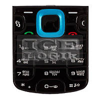Клавиатура для мобильного телефона Nokia 5320, синяя, русская