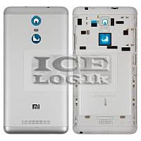 Задняя крышка батареи для мобильного телефона Xiaomi Redmi Note 3, серебристая, белая, original, с б