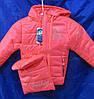Куртка детская на девочку с сумкой, фото 2