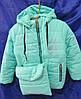 Куртка детская на девочку с сумкой, фото 3