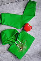 Детский спортивный костюм с золотистой паутинкой