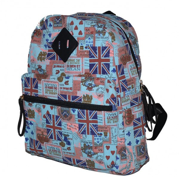Рюкзак  Школьный Текстильный British Flag Blue