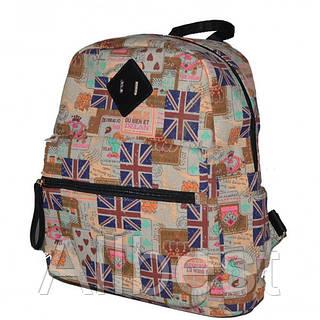 Рюкзак Текстильный Школьный British Flag Blue
