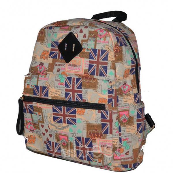 Текстильный Рюкзак Школьный British Flag